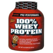 Pro Performance 100% Whey Protein (GNC)