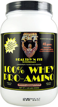 100% Whey Pro-Amino (Healthy 'N Fit)