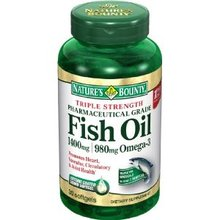 Triple Strength Fish Oil (Nature's Bounty)