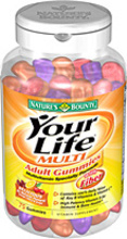 Your Life Multi Adult Gummies (Nature's Bounty)