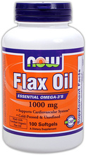 Flax Oil (NOW)