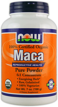 Maca Organic Pure Powder (NOW)