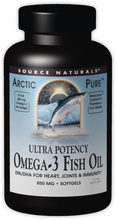 ArcticPure Ultra Potency Omega-3 Fish Oil (Source Naturals)