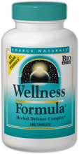 Wellness Formula Tabs (Source Naturals)