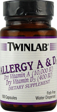 Allergy A & D (Twinlab)